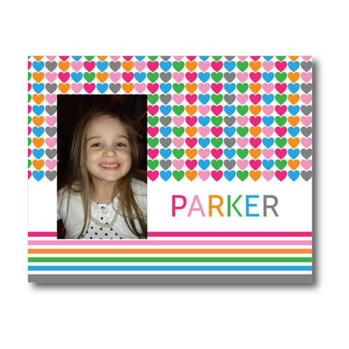 Personalized Multi Heart Picture Frame