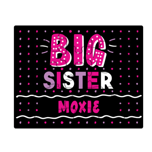 Personalized Big Sister Puzzle