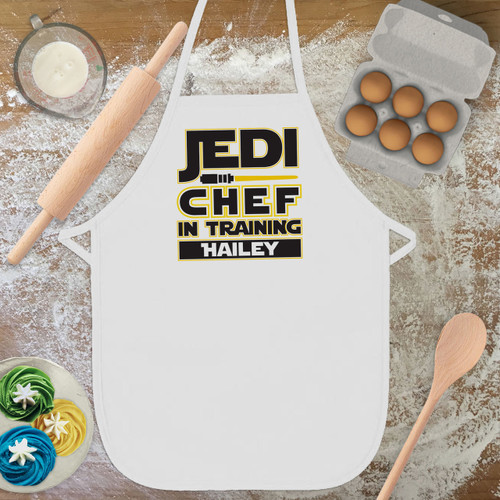 Personalized Jedi Chef Kid's Apron