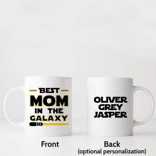 Best Mom In The Galaxy Star Wars Mug