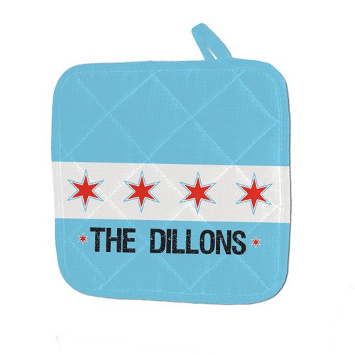 Personalized Chi-Town Pot Holder