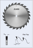 S21300 300mm x 80mm Rip Saw Blade (Heavy Duty) by FS Tool