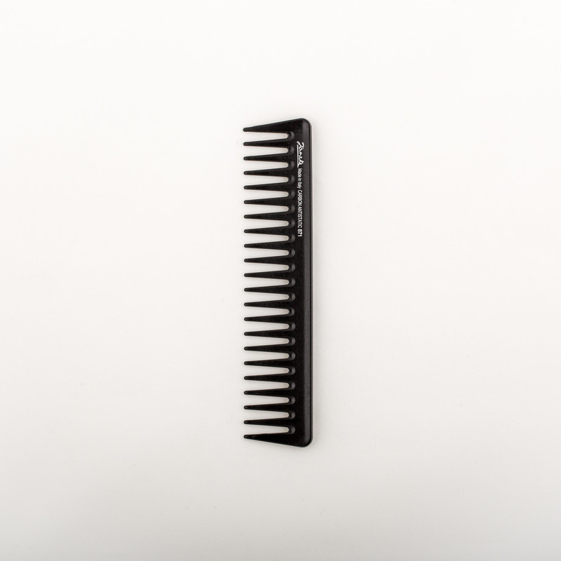 Carbon Fibre Wide Tooth Comb (55871)  by Janeke