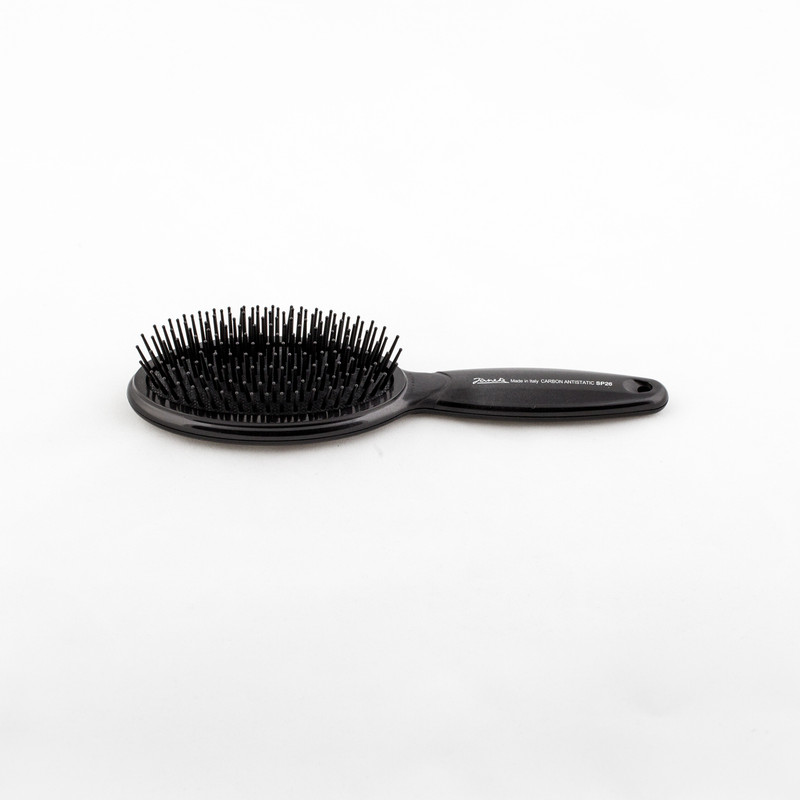 Carbon Fibre Classic Hairbrush by Janeke