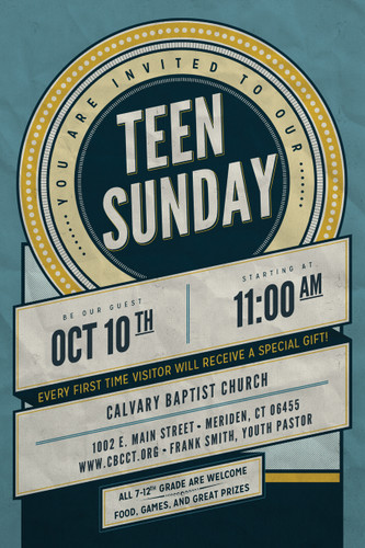 Teen Sunday (A)