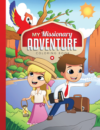 My Missionary Adventure - Coloring Book