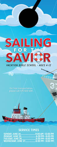 VBS Boating Theme - Door Hanger