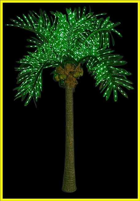 Outdoor Lighted Palm Trees Lighted palm tree 10ft led style hawaii led palm tree workwithnaturefo