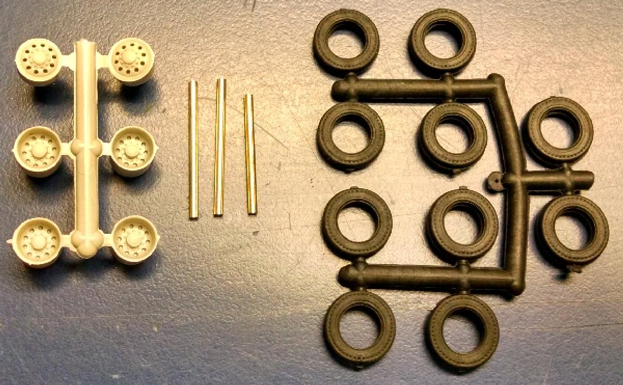 Bud Type Dual Disk Wheel, Tires & Axles