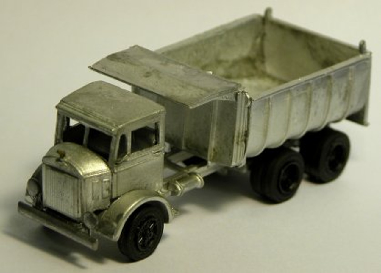 1933 Mack CJ Truck with Curved Sided Dump Body Kit