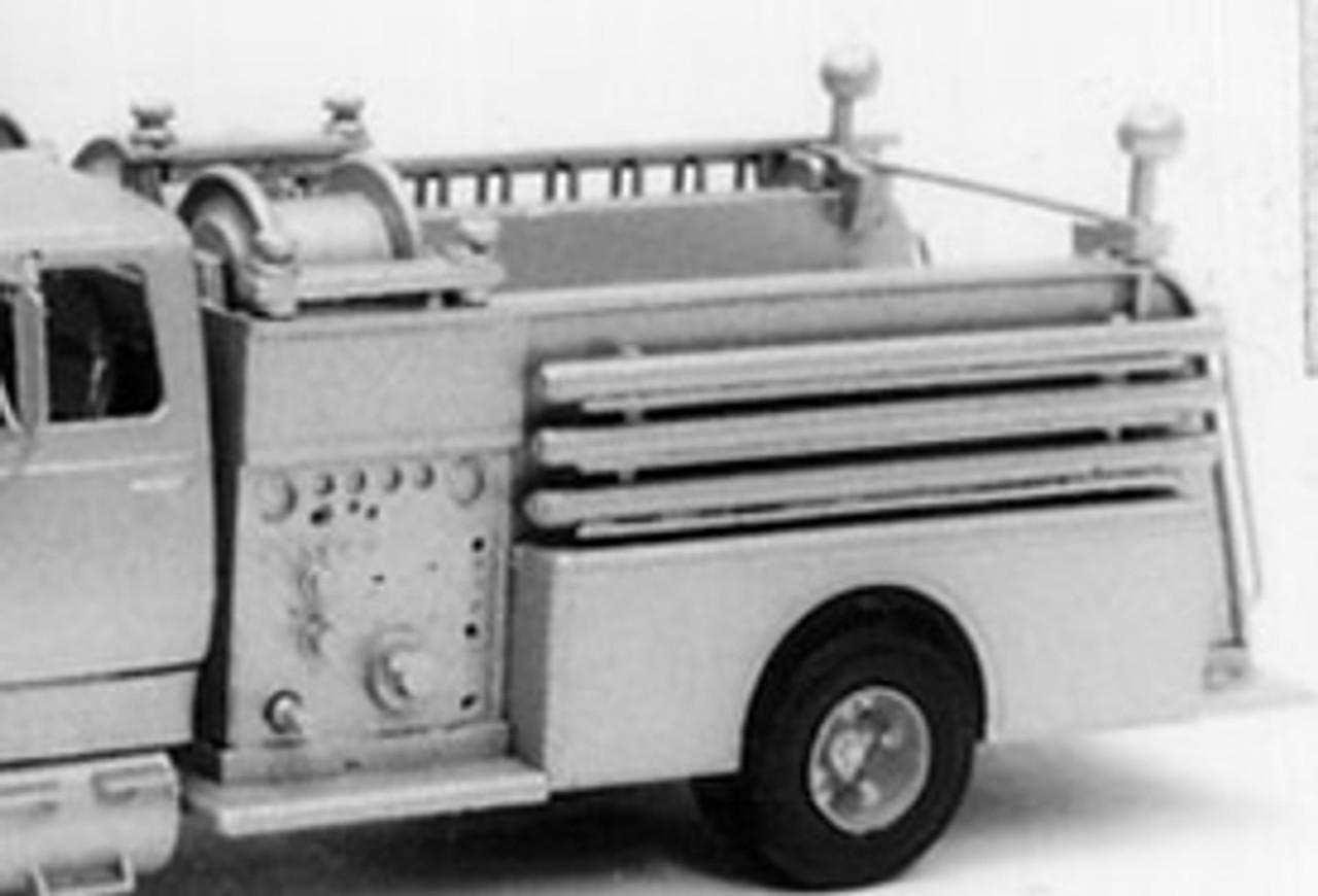 Pierce Firetruck Pumper Body Kit