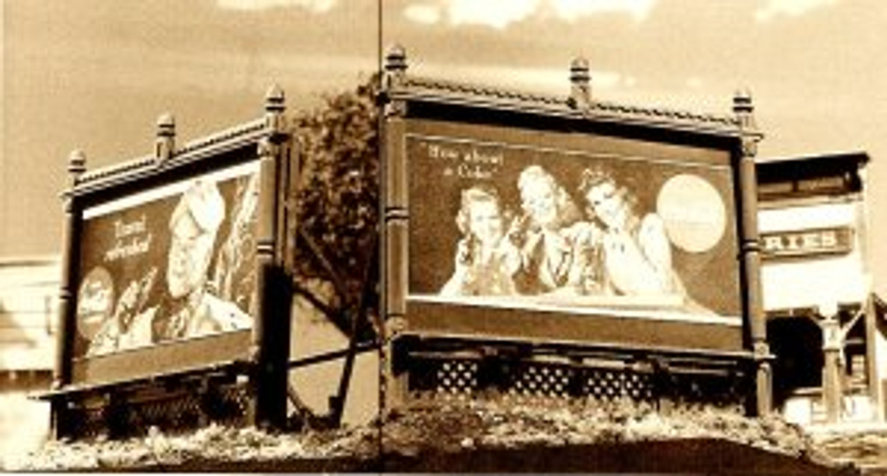 Billboards of the 1920's Kit No. 1