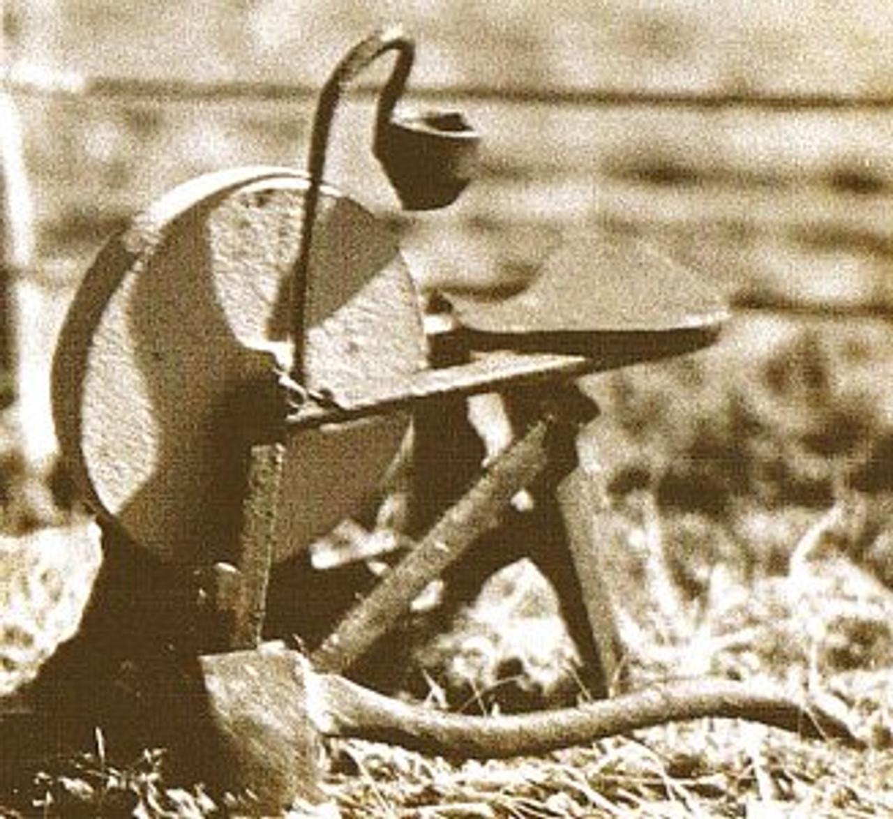 Foot Treadle Grinding Stone Kit