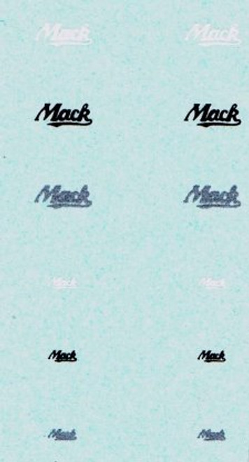 Decals for Mack Trucks