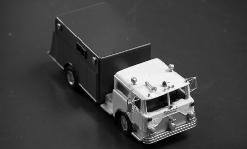1968-88 Mack CF 2 or 4 door Firetruck with Pierce CRV-18 Rescue Body Kit