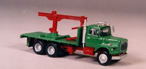 1990 Ford LTS 9000 Truck with Boom & Block Flatbed Kit