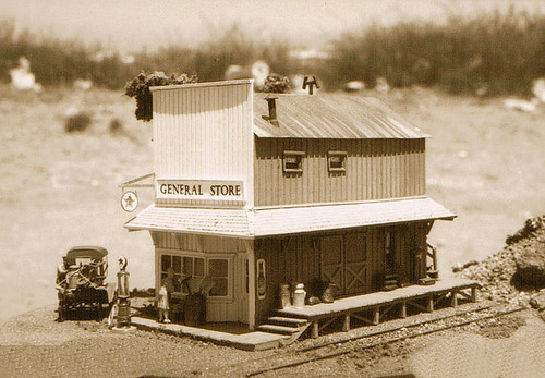 Re-Issued! Country Store (with Interior & Exterior Details) Super Kit