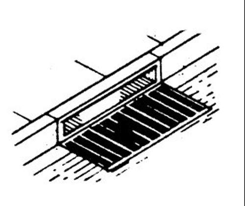 Curb Side Storm Sewer Grate