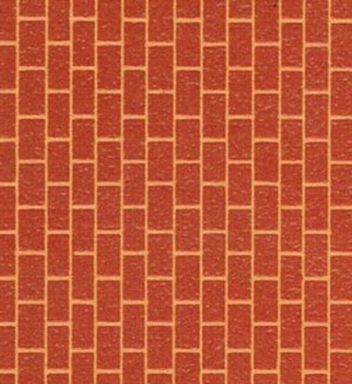 Red Cut Stone Raised Facing Paper