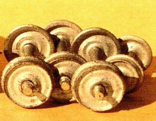 HOn3 Narrow Gauge Wheels & Axle Sets