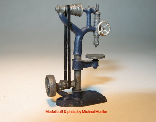 Barnes Drill Press Kit with Overhead Belt Drive