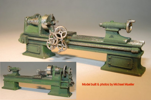 "72"" x 24"" Engine Lathe Kit with Overhead Belt Drive"