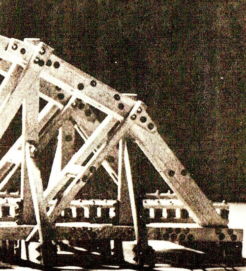 Nut Bolt Washer as shown on a bridge assembly