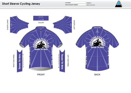 Tucson Short Sleeve Cycling Jersey