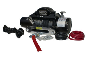 10,000 lbs. SRS-Series Winch, Synthetic Rope with Aluminum Hawse