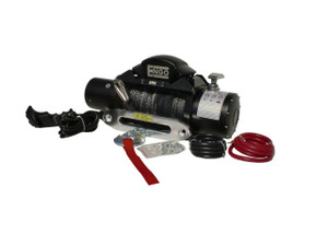 9,000 lbs. SRS-Series Winch, Synthetic Rope with Aluminum Hawse