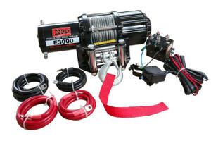 3,000 lbs. 12 Volt Electric Winch for ATV/UTV
