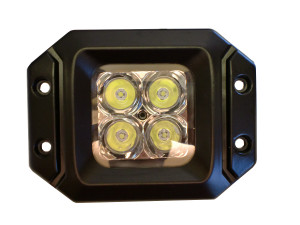 20 Watt LED Light Pair(Flange Mount) with Spot pattern(Cree)E2