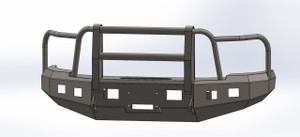 BUMPER WITH FULL GRILL BAR FOR GMC 2003-2007, 2500-3500