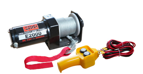 2,000 lbs. E-Series 12 Volt Electric Winch