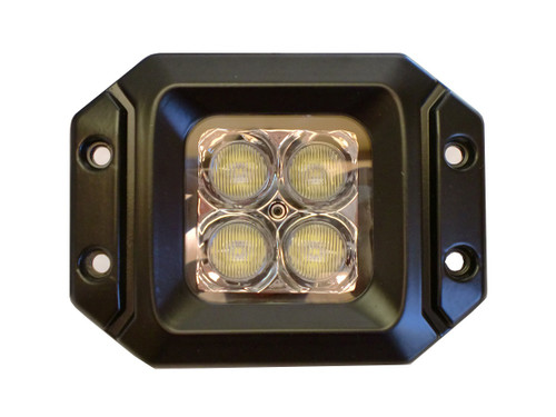 20 Watt LED Light Pair(Flange Mount) with Flood Pattern(Cree)E2