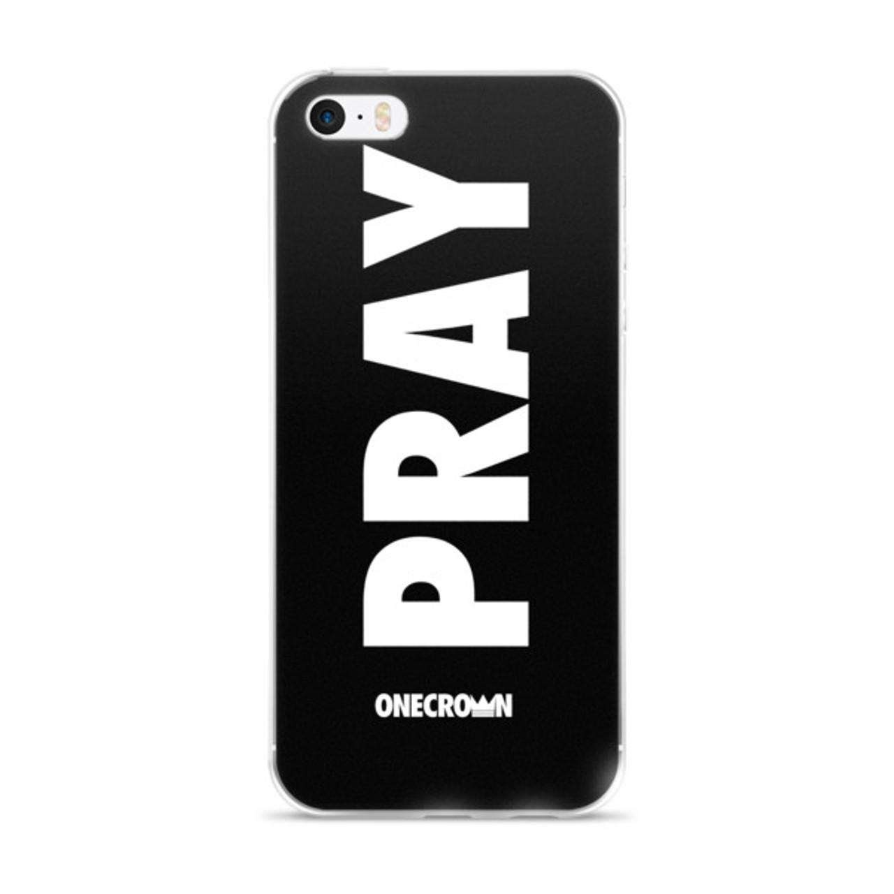 PRAY iPhone 6/6s, 6/6s Plus Case - Black