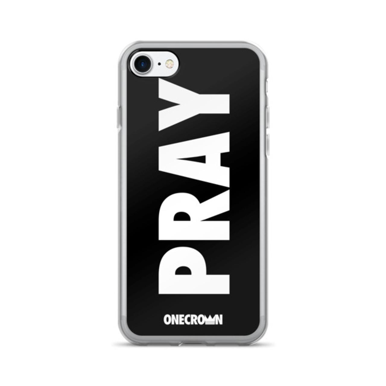 PRAY iPhone 7/7 Plus Case - Black