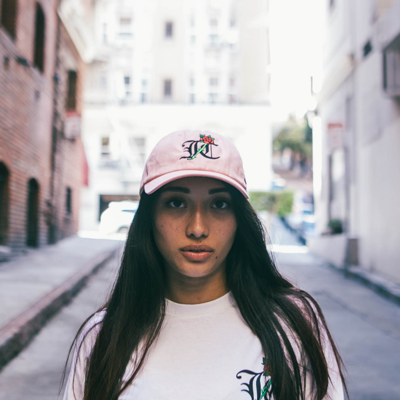 JC - Dad Hat - Pink