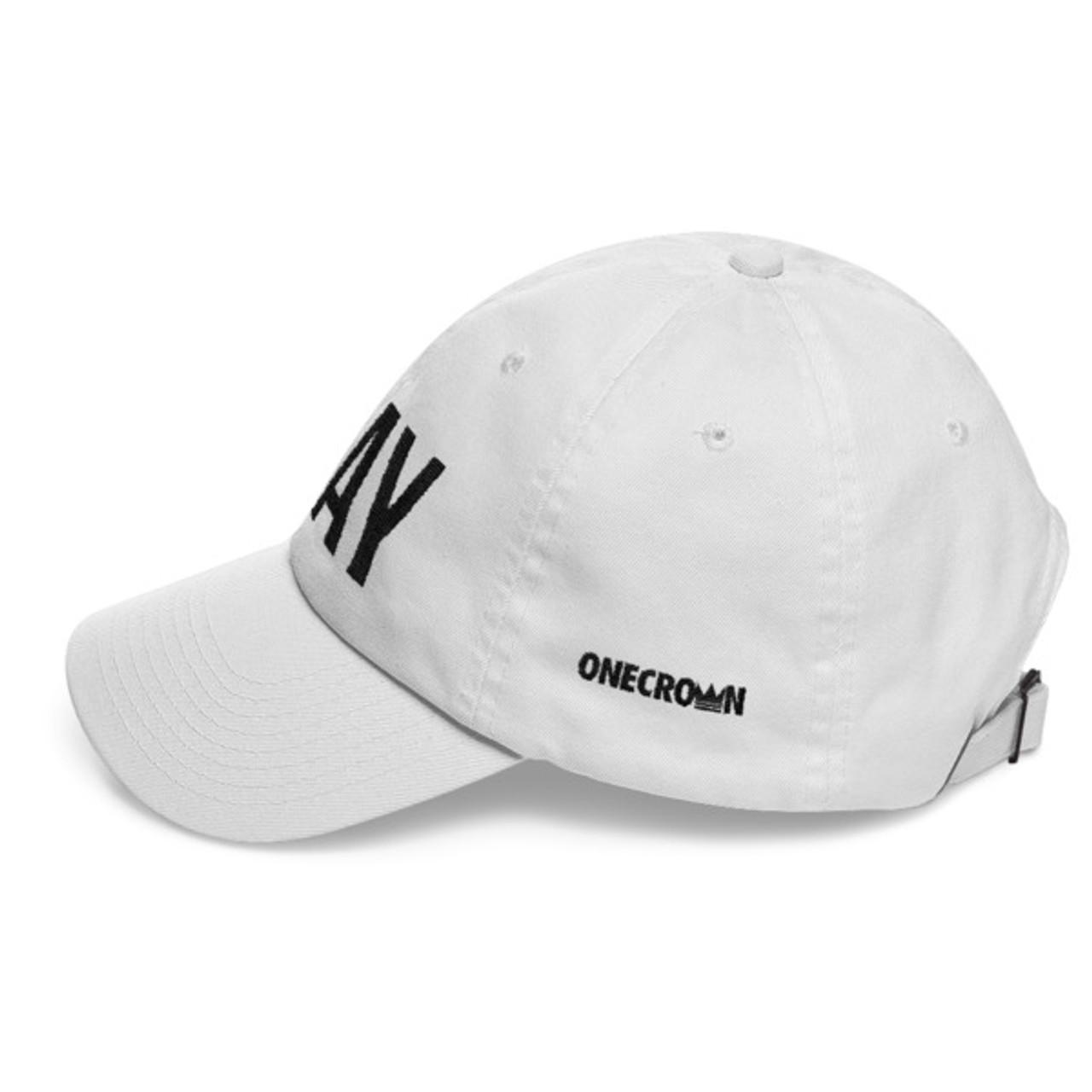 PRAY - Dad Hat - White