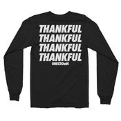 THANKFUL - LS Tee - Black