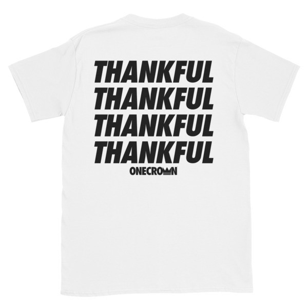 THANKFUL - SS Tee - White