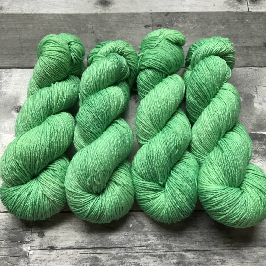 """Sprout"" Hand Dyed Summit Sport Yarn"