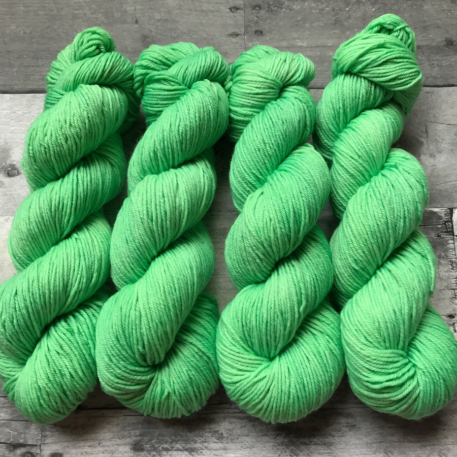 """""""Sprout"""" Hand Dyed Expedition DK Yarn"""