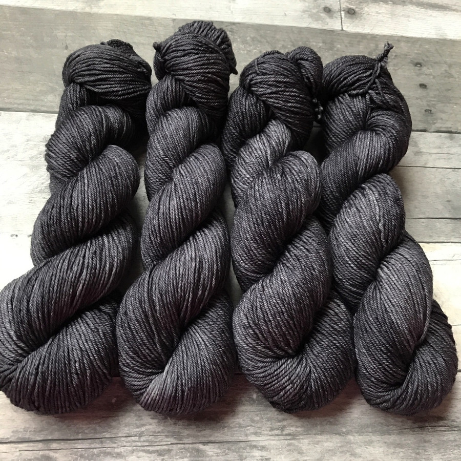 """Cinder"" Hand Dyed Expedition DK Yarn"