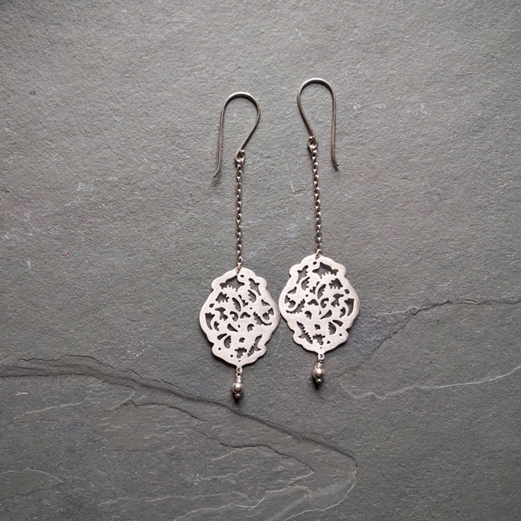 Acanthus Earrings No. 2