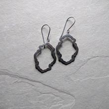 Peony Earrings No. 1 Patina