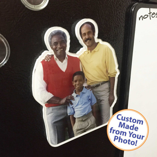 "PhotoMagnet Cutout - 6"" - Matte Finish"