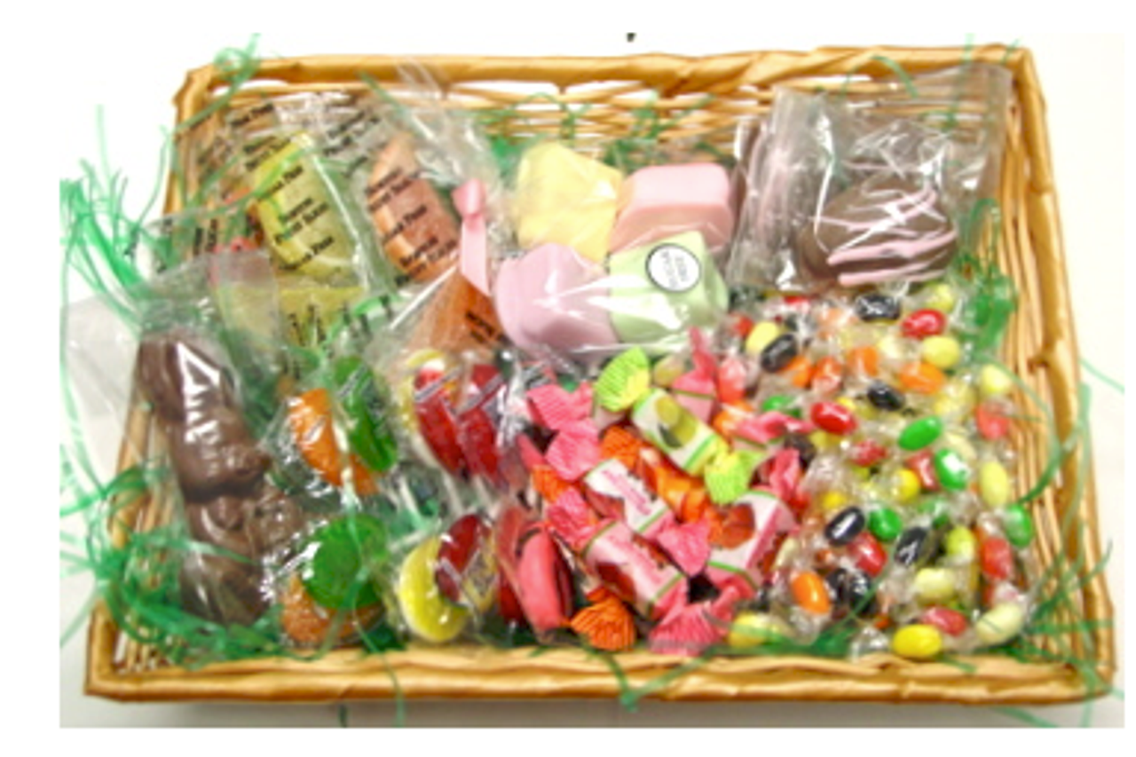 Sugar free diabetic friendly easter gift basket negle Image collections