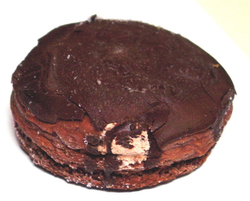 Sugar Free Chocolate Donuts with Chocolate Cream - No Transfat, Saturated Fat or Cholesterol, Contains 6 donuts about 1.4 lbs