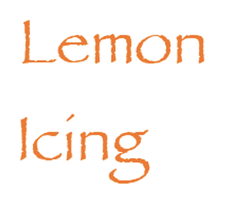 Sugar Free Natural Lemon Flavor Icing Mix (8.5 oz)